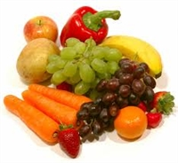 Fruits and Vegetables for the Nativity or Easter Feast